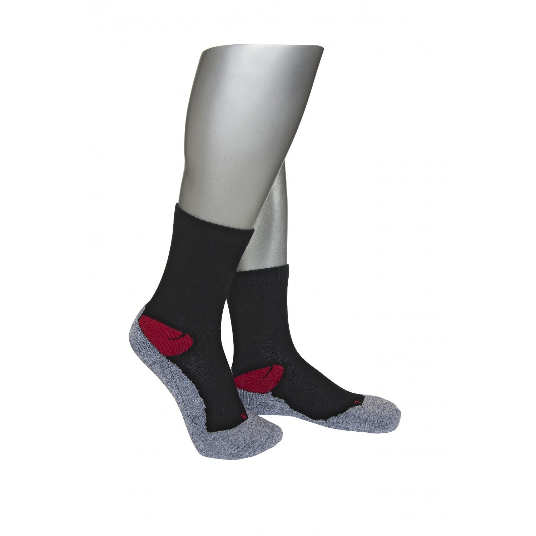 Носки мужские спортивные askomi серый/черный/красный