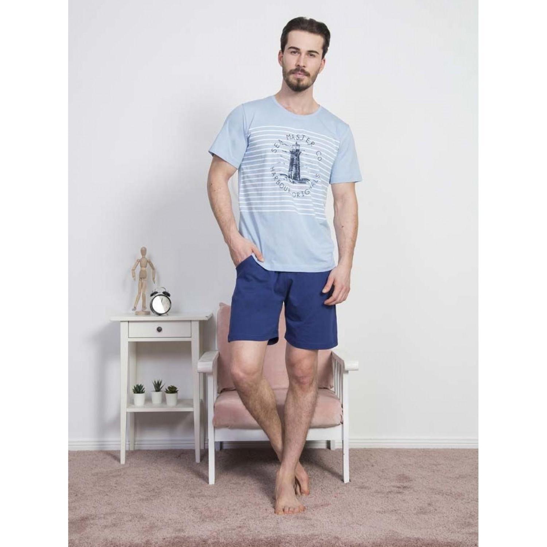 Мужской домашний комплект с шортами Vienetta