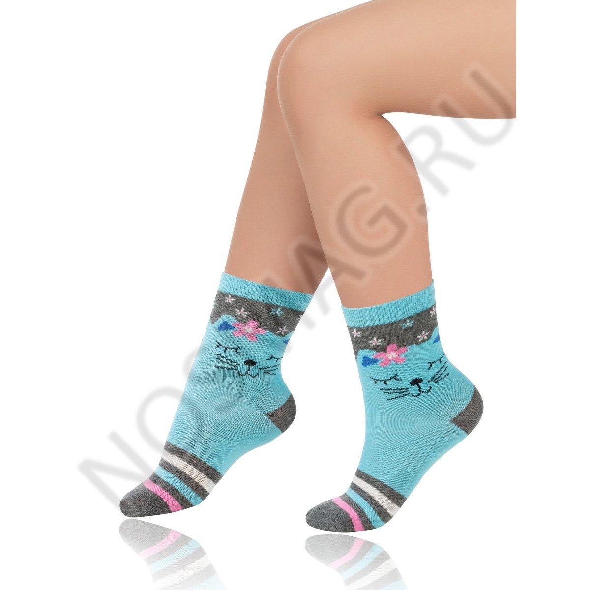 Носки детские хлопковые Charmante голубые