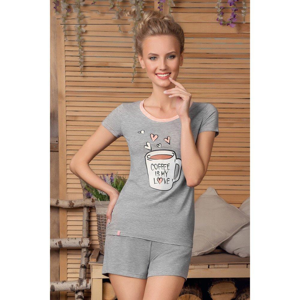 Комплект женский (футболка и шорты) NicClub