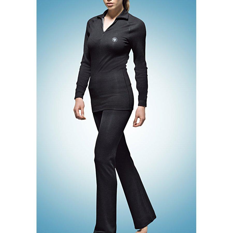 Комплект (брюки и лонгслив) женский термо blackspade чёрный