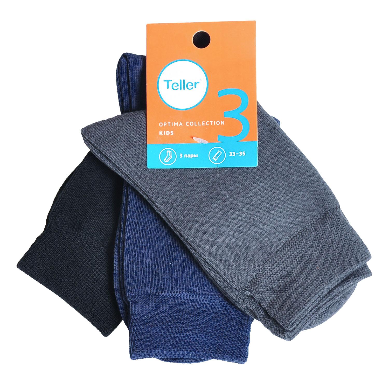 Комплект детских носков Teller Optima из 3 пар