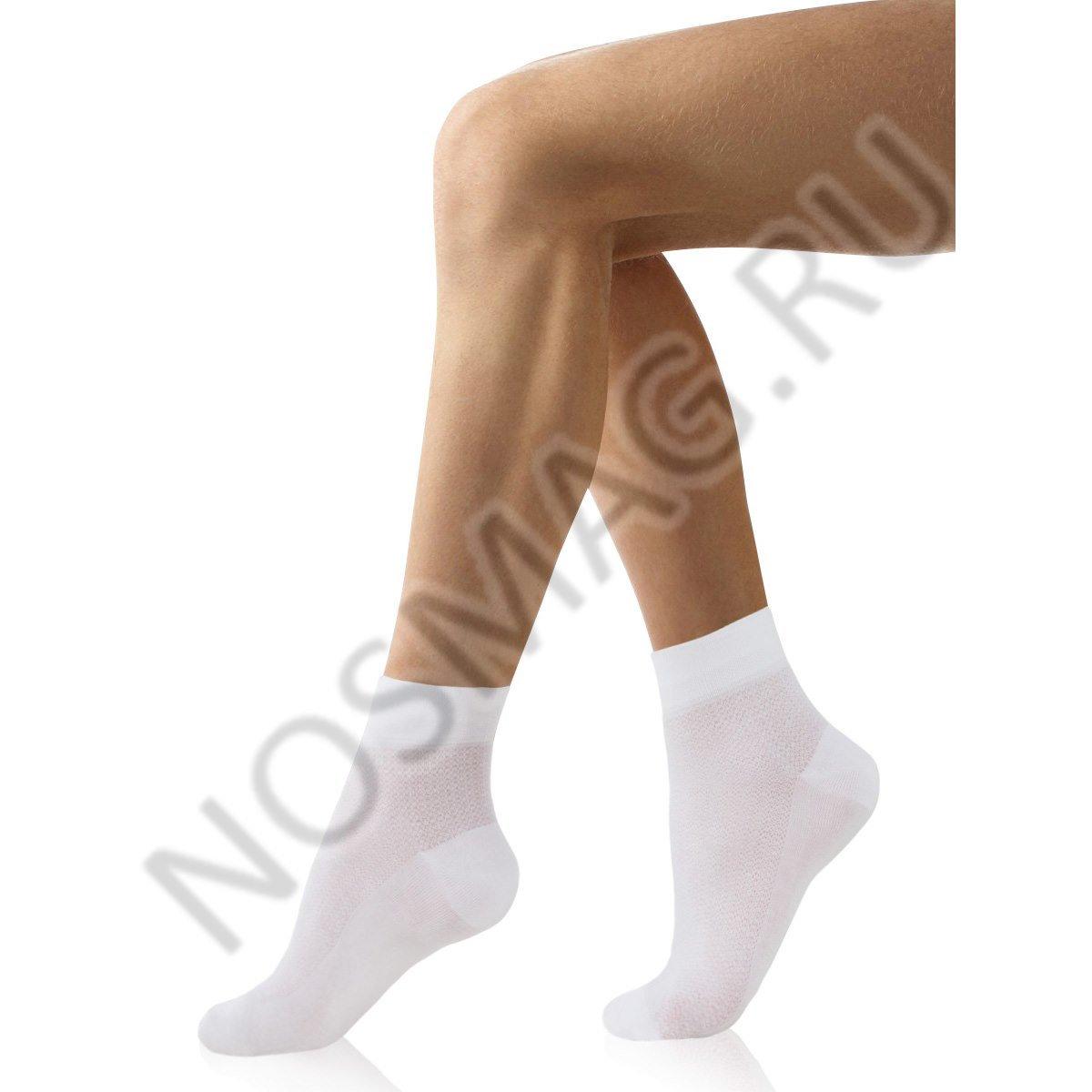 Носки мужские хлопковые Charmante белые