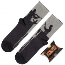 Мужские носки в подарочной упаковке НОСМАГСТЕР с принтом  Охотник & Рыболов