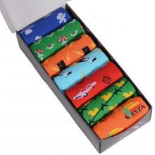Набор из 7 пар мужских хлопковых носков Flappers Peppers микс