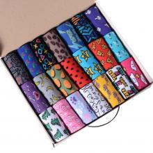 Набор из 21 пары женских хлопковых носков Flappers Peppers микс в кейсе  Полный улет