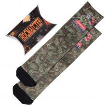 Мужские носки в подарочной упаковке НОСМАГСТЕР с принтом  Отважный пехотинец