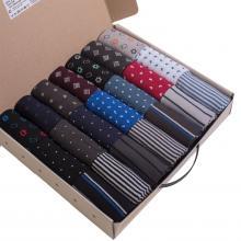 Набор из 21 пары мужских хлопковых носков Flappers Peppers микс в кейсе  Полный улет