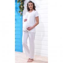Пижама для беременных Blackspade ЭКРЮ