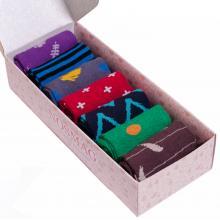 Набор из 7 пар женских носков  Челны Текстиль  МИКС