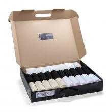 Набор из 20 пар мужских носков  Бизнес  (RuSocks) с мешком для стирки микс 9