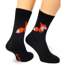 Носки unisex St. Friday Socks Fox & Friday черный