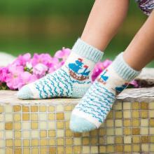 Детские шерстяные носки (Бабушкины носки) МУЛЬТИКОЛОР