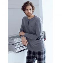 Пижама мужская ENRICO COVERI серая