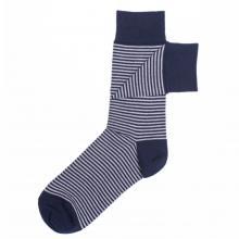 Мужские носки Нева-Сокс BRIDGEPORT, сине-белые