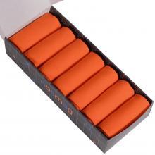 Набор из 7 пар мужских носков (LORENZline) оранжевые