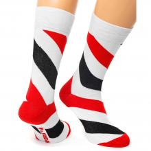 Носки unisex St. Friday Socks Friday Spiral белые