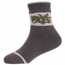 Детские махровые носки  Красная ветка  КОРИЧНЕВЫЕ