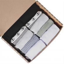 Набор из 10 пар мужских коротких бамбуковых носков  (ТМ Grinston socks) микс