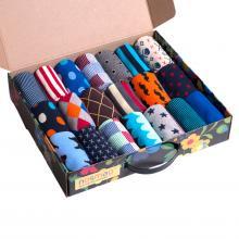 Набор из 20 пар женских носков (ХОХ FANTASY) микс