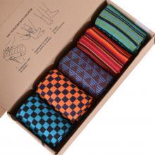Набор из 5 пар мужских носков (НЕВА-Сокс) микс  Соседи просят потише