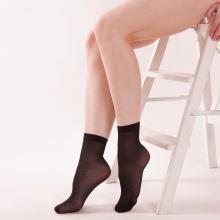 Комплект из 2 пар женских носков c лайкрой 30 den ИЖТЕКС ЧЕРНЫЕ