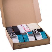 Набор носков из 20 пар в кейсе с сургучной печатью (СПОРТ, «Гранд-Сокс») микс 39