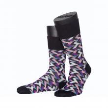 Мужские носки из мерсеризированного хлопка ASKOMI ЧЕРНЫЕ