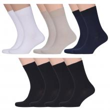 Комплект из 10 пар мужских носков ТМ CAVALLIERE (RuSocks) микс 3