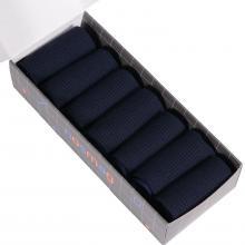Набор из 7 пар мужских носков (LORENZline) синие