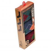 Комплект мужских носков (3 пары) JOHN FRANK МИКС