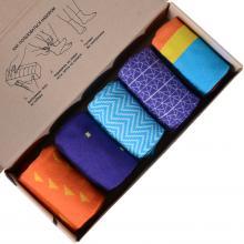 Набор из 5 пар мужских носков (НЕВА-Сокс) микс