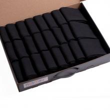Набор из 24 пар мужских хлопковых носков (Брестские) черные