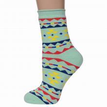 Женские махровые носки ХОХ САЛАТОВЫЕ