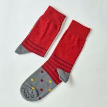 Носки unisex St. Friday Socks Зазеркалье красно-серое