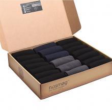 Набор носков «Бизнес» из 20 пар в кейсе с сургучной печатью («RuSocks») микс 7