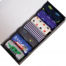 Набор из 7 пар мужских носков MoscowSocksClub микс 1