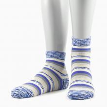 Женские носки Grinston СИНЕ-БЕЖЕВЫЕ