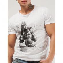 Мужская футболка Opium БЕЛАЯ