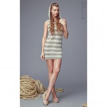Платье женское с капюшоном Milliner натуральный/белый