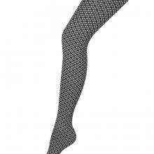 Колготки женские SACCHIERA 80 Charmante чёрный/белый