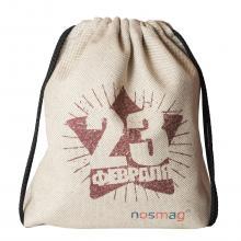 Набор носков  Стандарт  20 пар в мешке с надписью  23 февраля