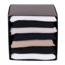 Набор мужских коротких носков из микромодала, 7 пар (ТМ Grinston) микс
