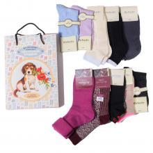 Набор из 10 пар женских носков (RuSocks) микс