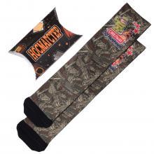 Мужские носки в подарочной упаковке НОСМАГСТЕР с принтом  Смелый пограничник
