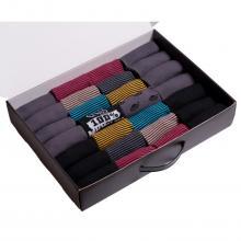 Набор из 28 пар мужских носков от фабрики VIRTUOSO микс