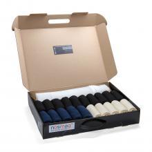 Набор из 20 пар мужских носков «Бизнес» (RuSocks) с мешком для стирки микс 13