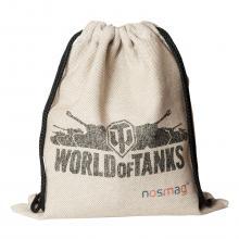 Набор носков «Бизнес» 20 пар в мешке с надписью «World of tanks»