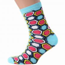 Мужские носки АЛСУ ЗМЕЙКА, бирюзовые