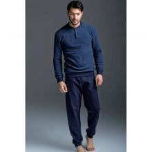 Пижама мужская ENRICO COVERI синяя